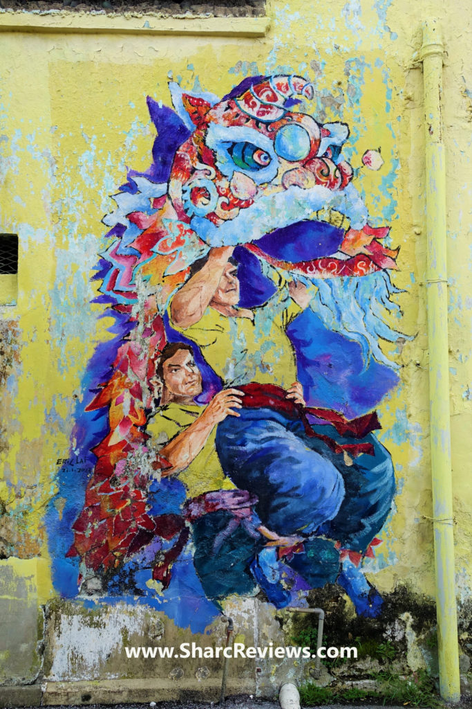 Ipoh Mural Artwork
